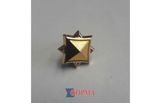 Звезда ГСЧС (золото)