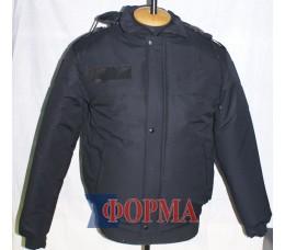 Куртка полиции,зима (чёрная)