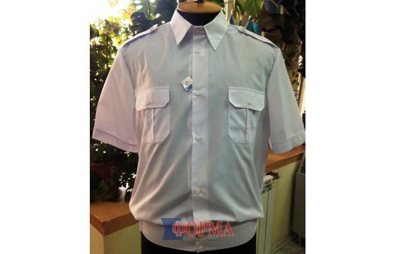 Рубашка форменная МВС короткий рукав (белая)