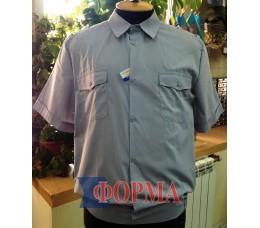 Рубашка форменная серая короткий рукав