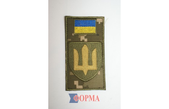 """Шеврон-заглушка на липучке """"Сухопутные войска ВСУ"""""""