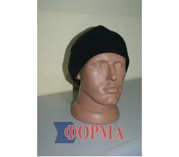 шапка флисовая чёрная