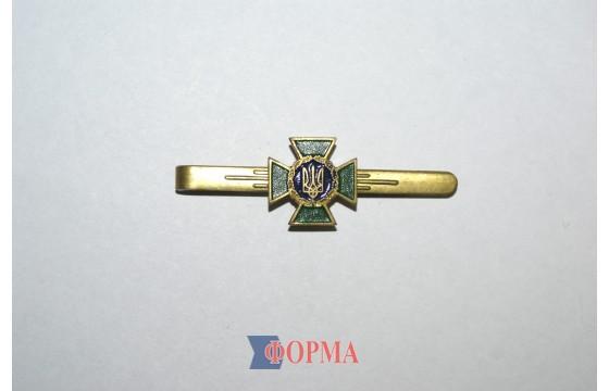 Зажим для галстука металлический (пограничная служба)