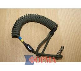 Страховачный ремешок-спираль  для пистолета