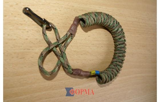 Страховачный ремешок-спираль  для пистолета(хаки)