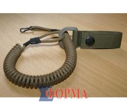 Страховачный ремешок-спираль  для пистолета (кайот)
