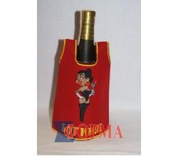 Сувенирный чхол-рубашка на бутылку
