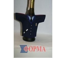 Сувенирный чхол-рубашка на бутылку (ГАИ)