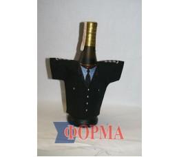 Сувенирный чхол-рубашка на бутылку (полиция)