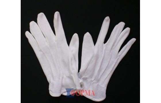 Перчатки парадные (белые)