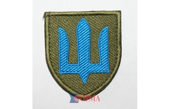 Шеврон тризуб  Механизированные войска