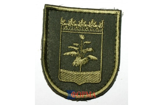 Шеврон  ВСУ ( Военкомат Донецкой обл) олива