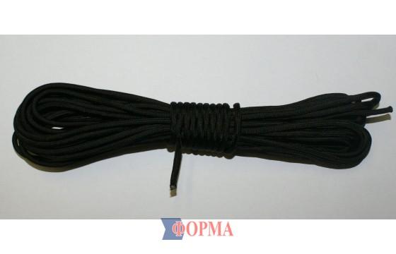 Верёвка паракорд (чёрная)