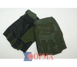 Перчатки тактические с открытыми пальцами (mechanix)