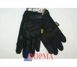 Перчатки тактические MECHANIX (чёрные)